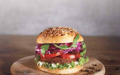 Das Simply Bugs Burger-rezept